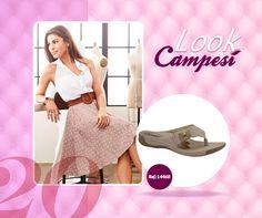 Look fresquinho e leve para um verão tranquilo com um #Campesí lindo. #lookCampesí #moda #verão