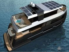 The Wind Rose Yacht Provides an Eco-Friendly Oceanic Escape #yachts trendhunter.com