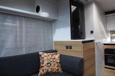 2018 Adria Action 361 LT, Single Axle, 2 berth, End Kitchen Caravane Adria, Blinds, Centre, Flat Screen, Action, Curtains, Home Decor, Blood Plasma, Group Action