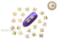Nail Art - Ultra Thin Metal Decoration (Flat) – Page 2 – WiiNo Shop Gold Cupcakes, Thin Nails, Nail Art Supplies, Nail Jewelry, New Nail Art, Nail Supply, Nail Shop, Nail Art Designs, Crystals