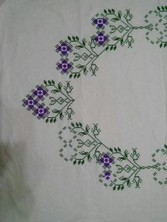 Embroidery Stitches, Cross Stitch Flowers, Cross Stitch Patterns, Crossstitch, Sewing Station, Prayer Rug, Mix Media, Crochet Art, Bargello