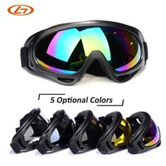 e2638743d29c  Visit to Buy  5 Lens Colors Dust-proof Ski Sunglasses Cycling Hiking  Outdoor Sports Goggles Skate Eyewear Bulletproof Skiing Glasses