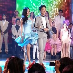 KathNiel as they graces the ASAP stage for the Star Magic's 21st anniversary!