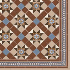 victorian tile kitchen floor - Google Search