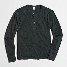 J Crew Factory heathered henley ($12.50 as of 12/29)