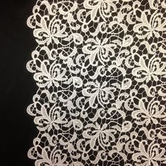 Ivory Web Guipure French Venice Lace