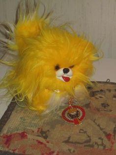 Vintage Kiinanpalatsikoira Shanghai Dolls Factory - I had almost forgotten my Yellow doggy❤