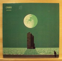 MIKE OLDFIELD - Crises - mint minus Vinyl LP Shadow on the Wall Foreign Affair