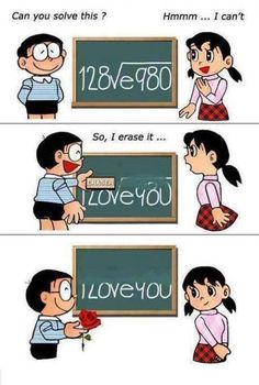 Cute and sweet way to tell someone you love them!