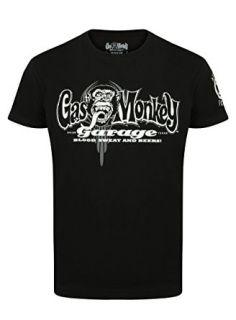 Camiseta Gas Monkey Garage de color negro Gas Monkey Garage, Motorcycle Shop, Color Negra, Motorcycles, Mens Tops, T Shirt, Shopping, Black, T Shirts