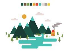 cute illustration in process by Kaylen Saxon