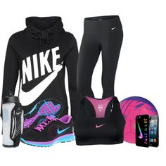 """Nike"" by michellesweet74 on Polyvore"
