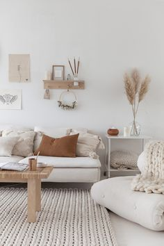 Living Room Home Design Ideas - Simple Modern Home Decor Inspiration Living Room Interior, Home Living Room, Living Room Designs, Living Room Decor, White Couch Living Room, Scandi Living Room, Scandi Home, Scandinavian Living, Scandinavian Interior