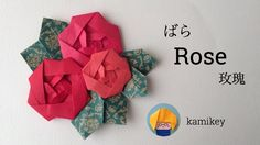 Jpapanese Origami creator kamikey' s original origami works and traditional models. I like to create kawaii origami. Origami Koi Fish, Gato Origami, Instruções Origami, Origami Cards, Origami Ball, Money Origami, Origami Paper Art, Origami Bookmark, Origami Instructions