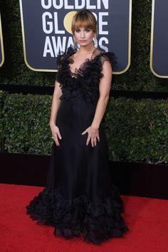 Lily James Golden Globes 2018