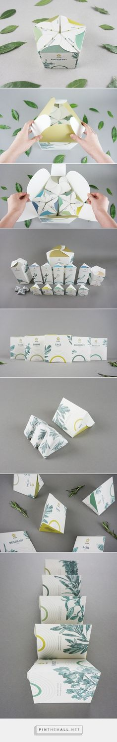 SHIZEN Indoor gardening tools and seeds set packaging by NYC based In-young Bae. #packaging #design