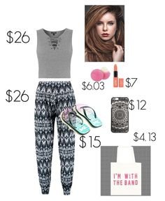 """Under $100 runway challenge"" by darkplyvore on Polyvore featuring Boohoo, Topshop, Eos, fab and runwaychallenge"