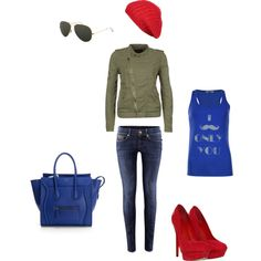 """Street colours"" by kaczusna on Polyvore"
