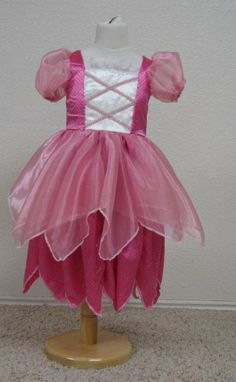 Beautiful Pink Fairy Dress by Enchanted Kingdom Costumes