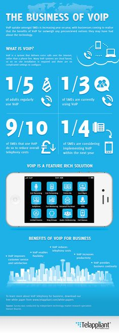 THE BUSINESS OF VOIP [INFOGRAPHIC]