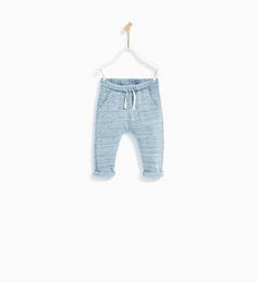 FLECKED TROUSERS WITH POCKETS-TROUSERS-BABY BOY | 3 months - 4 years-KIDS | ZARA United States