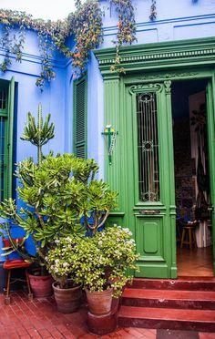 Las Pallas, en Barranco, Lima- Perú. Excelente lugar de venta de artesanías peruanas
