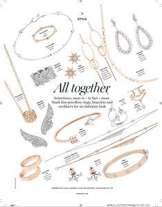 Harrods Magazine September {Luxury Jewelry} Hair magazine Hair Jewelry, Fine Jewelry, Stacked Necklaces, Hair Magazine, Jewelry Photography, Luxury Jewelry, Harrods, Fashion Rings, Layout Design