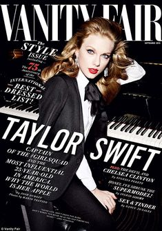 Most influential': Taylor Swift features on the cover of Vanity Fair for its September iss...