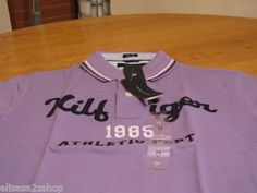 Men's Tommy Hilfiger Polo shirt small slim fit 7825580 logo paisley purple knit