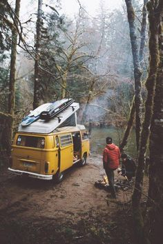 Would you like to go camping? If you would, you may be interested in turning your next camping adventure into a camping vacation. Camping vacations are fun Camping Ideas, Vw Camping, Glamping, Camping Style, Volkswagen Bus, Volkswagen Beetles, Adventure Awaits, Adventure Travel, Word Adventure