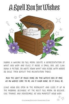 Cast a Legit Happiness Spell on Yourself, Explained by a Real Witch Spell box for Wishes This image has get. Witch Spell Book, Witchcraft Spell Books, Magick Spells, Moon Spells, Real Spells, Hoodoo Spells, Wicca Witchcraft, Happiness Spell, Real Witches