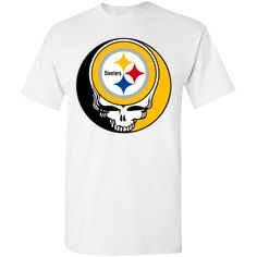 NFL Pittsburgh Steelers x Grateful Dead Logo Band T-Shirts