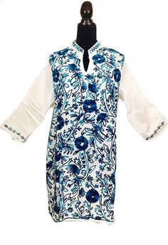 A personal favorite from my Etsy shop https://www.etsy.com/listing/507921722/women-100-cotton-tunic-dress-kurti-kurta