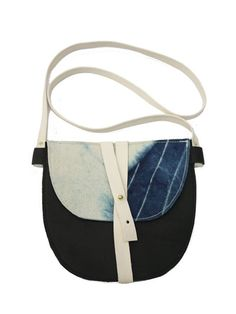 Job & Boss shibori crossbody bag