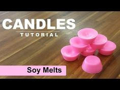 How to make Soy Wax Melts , Soy Wax Tarts in a mold tray - YouTube