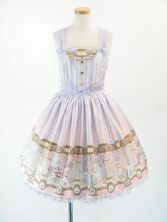 Angelic Pretty Day Dream Carnival JSK this looks like a classic version of sugary carnival.
