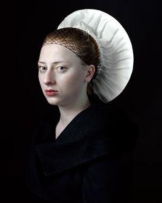 2dstudioinvorm2dstudioinvorm  Portretten steek je zo van een oud in een nieuw jasje. De Nederlandse Hendrik Kerstens...