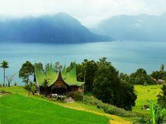 Maninjau lake, west sumatra.