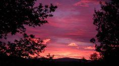 Sunset at  Glenkens!  Oh how I miss Scotland!!!!!  (From BBC News Website)