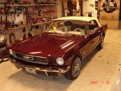 1965 Ford Mustang Standard Convertible