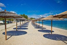Island of Vir beach umbrellas 2 Island of Vir beach umbrellas 2 Vir background bay beach beautiful blue coast coastline croatia dalmatia day dream enjoy holiday horizon idyllic island landscape leisure lonely nature nobody ocean outdoor paradise parasol peaceful pebble relax relaxation resort rest sand sea seascape shore sky solitude summer sun sunshade tourism tranquil travel tropical umbrella vacation view water