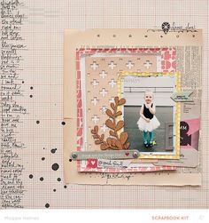 Lovely Day by maggie holmes at @Studio_Calico 12x12 layout #SCbluegrassfarm