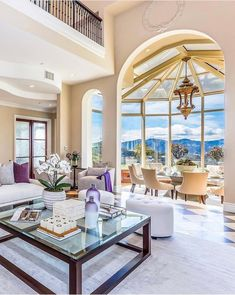 JUST LISTED! ↓ a One of a Kind Handcrafted Estate ↘︎ Thrilled to present this private, double gated, newly renovated estate that commands… Decor, Home, House Design, Luxury Interior, Mansions, Luxury Penthouse, Living Spaces, Beautiful Living Rooms, Luxury Homes