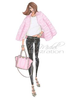 Hey, I found this really awesome Etsy listing at https://www.etsy.com/listing/227209697/sweet-and-sassy-fashion-illustration