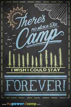 There's no place like camp #thepowerofcamp
