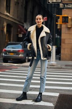 New York Street Style, Model Street Style, New York Style, Winter Fashion Outfits, Fall Winter Outfits, Autumn Winter Fashion, New York Winter Fashion, New York Winter Outfit, Style Invierno
