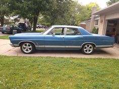 1967 Ford Galaxie 500 4 Door Lisa Says I Learned To Drive In One