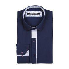 GUIDE Stripe Trim Slim Fit Shirt £45.00