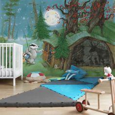 Kindertapeten - Vliestapeten - Wassili auf dem Heimweg - Fototapete Breit