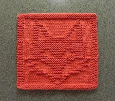 FOX Wash Cloth / Dishcloth / Quilt Block   Craftsy